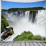 abordables -majestueux cascade paysage tapisserie murale art décor couverture rideau suspendu maison chambre salon décoration