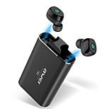 abordables -AWEI T85 Écouteurs sans fil TWS Casques oreillette bluetooth Bluetooth5.0 Stéréo LA CHAÎNE HI-FI Avec boîte de recharge IPX4 étanche Résistant à la sueur pour Téléphone portable