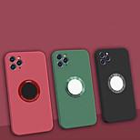 economico -telefono Custodia Per Apple Per retro iPhone 12 Pro Max 11 Pro Max Resistente agli urti Tinta unica Silicone