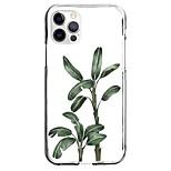 abordables -Plantes Cas Pour Pomme iPhone 12 iPhone 11 iPhone 12 Pro Max Modèle unique Étui de protection Motif Coque TPU