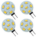 abordables -4 pièces 2 W LED à Double Broches 200 lm G4 6 Perles LED SMD 5730 Blanc Chaud Blanc Naturel Blanc 9-30 V