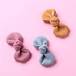 abordables -1 PCS Bébé Fille Actif / Doux Usage quotidien Bleu Couleur Pleine Noeud Polyester Accessoires Cheveux Bleu / Jaune / Rose Claire Taille unique