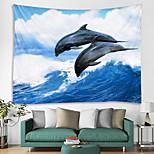 abordables -Tapisserie murale art décor couverture rideau suspendu maison chambre salon décoration et thème moderne et plage