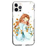 economico -Creativo Caratteri Astuccio Per Mela iPhone 12 iPhone 11 iPhone 12 Pro Max Design unico Custodia protettiva Fantasia / disegno Per retro TPU