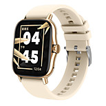 abordables -DW11 Smartwatch Montre Connectée pour Android iOS Samsung Apple Xiaomi Bluetooth 1.63 pouce Taille de l'écran IP 67 Niveau imperméable Imperméable Moniteur de Fréquence Cardiaque Mesure de la