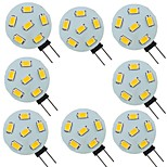 abordables -8 pièces 2 W LED à Double Broches 200 lm G4 6 Perles LED SMD 5730 Blanc Chaud Blanc Naturel Blanc 9-30 V