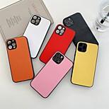 economico -telefono Custodia Per Apple Per retro iPhone 12 Pro Max 11 SE 2020 X XR XS Max 8 7 Resistente agli urti A prova di sporco Mattonella Tinta unita TPU