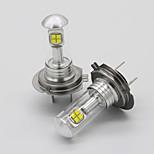 abordables -Automatique LED Feu Antibrouillard / Lampe Frontale H7 Ampoules électriques SMD 2525 Pour Volkswagen / Toyota / Honda Toutes les Années 2 pièces