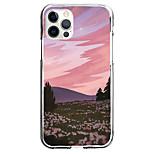 abordables -Créatif Paysage Cas Pour Pomme iPhone 12 iPhone 11 iPhone 12 Pro Max Modèle unique Étui de protection Motif Coque TPU