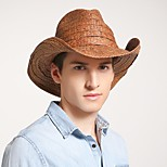 economico -Classico Pastorale Paglia cappelli con A quadri 1 pezzo Casuale / Per eventi Copricapo