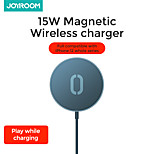 abordables -Joyroom Chargeur Sans Fil Pour Pour Téléphone Portable Charge Rapide 15 W Puissance de sortie RoHs CE FCC