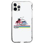 abordables -Paysage Cas Pour Pomme iPhone 12 iPhone 11 iPhone 12 Pro Max Modèle unique Étui de protection Motif Coque TPU