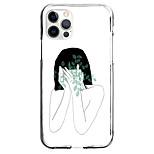 abordables -Créatif Personnages Cas Pour Pomme iPhone 12 iPhone 11 iPhone 12 Pro Max Modèle unique Étui de protection Motif Coque TPU