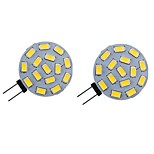 abordables -2pcs 2 W LED lumières bi-broches 200 lm G4 6 perles LED SMD 5730 blanc chaud blanc naturel blanc 9-30 v