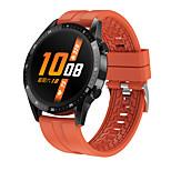 abordables -T30 Smartwatch Montre Connectée pour Android iOS Samsung Apple Xiaomi Bluetooth Imperméable Moniteur de Fréquence Cardiaque Mesure de la pression sanguine Sportif Longue Veille Moniteur de Sommeil