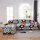 economico -fodera per divano in tessuto elasticizzato a forma di l con stampa geometrica colorata bohemien antipolvere copridivano onnipotente fodera per divano in tessuto super morbido con una federa gratuita
