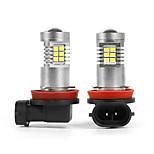 abordables -Automatique LED Feu Antibrouillard H11 Ampoules électriques 780 lm 10.5 W Pour Universel Toutes les Années 2 pièces