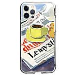 economico -Creativo Dipinto Astuccio Per Mela iPhone 12 iPhone 11 iPhone 12 Pro Max Design unico Custodia protettiva Fantasia / disegno Per retro TPU