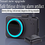economico -F16 320 x 240 Con filo 60° Monitor di retromarcia per auto Plug-and-Play / Display multifunzione / Promemoria del conducente affaticato per Auto