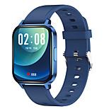 abordables -Q18 Unisexe Montre Connectée Bluetooth Moniteur de Fréquence Cardiaque Mesure de la pression sanguine Calories brûlées Santé Anti-perdu Podomètre Rappel d'Appel Moniteur d'Activité Moniteur de