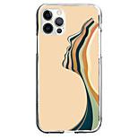 economico -Creativo Strisce Astuccio Per Mela iPhone 12 iPhone 11 iPhone 12 Pro Max Design unico Custodia protettiva Fantasia / disegno Per retro TPU