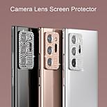 economico -telefono Proteggi Schermo Samsung S20 S20 Plus S20 ultra Lega di titanio 1 pezzo Luminoso Protezione dell'obiettivo della fotocamera Appendini per cellulare