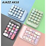 economico -AJAZZ AK18 Wireless a 2,4 GHz creativa della tastiera Corto Innovativo 18 pcs chiavi