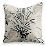 economico -doppio lato 1 pezzo fodera per cuscino floreale stampa 45x45cm lino per divano camera da letto