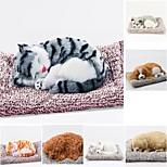 abordables -décoration de voiture simulation créative chien voiture paquet voiture charbon de bambou en peluche jouet intérieur fournitures chat