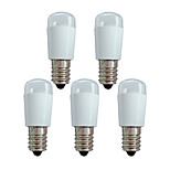 abordables -1 W 5 pièces 50 lm Ampoules Globe LED E14 6 Perles LED Décorative SMD 3014 180-240 V Blanc