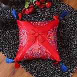 economico -cuscino estremo squisito raso ricamato in stile cinese piccolo cuscino include il nucleo del cuscino