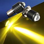 abordables -otolampara 1 pièce h4 moto phares LED ampoules 30w motif de faisceau de spots double couleurs phare de moto ba20d ip68 résistance étanche