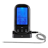 economico -TS-HY62 Portatile / Inteligente termometro del BBQ con allarme di allarme, Display LCD retroilluminato, Misurazione della temperatura digitale