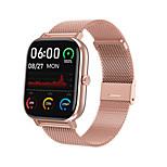 economico -dt35 + smartwatch per android ios bluetooth 1.75 pollici dimensioni dello schermo ip 67 livello impermeabile monitor della frequenza cardiaca misurazione della pressione sanguigna informazioni