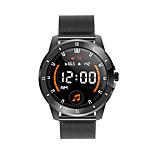 economico -smartwatch mx12 supporta misurazione della frequenza cardiaca / pressione sanguigna, tracker sportivo per telefoni iphone / android