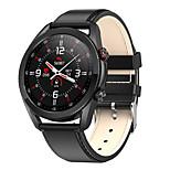 economico -l19 smartwatch per android ios bluetooth ip68 livello impermeabile touch screen impermeabile cardiofrequenzimetro misurazione della pressione sanguigna sport pedometro promemoria chiamata tracker