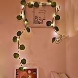 economico -2m Fili luminosi 20 LED 1 pc Bianco caldo San Valentino Capodanno Al Coperto Feste Decorativo Batterie AA alimentate
