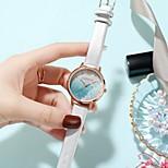 economico -orologio femminile impermeabile di temperamento semplice del cielo stellato del rhinestone delle sabbie mobili