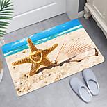economico -tappetino da bagno moderno con stampa digitale a forma di cuore di perle di mare tappetini da bagno moderni in tessuto non tessuto / memory foam
