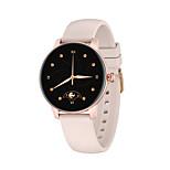 economico -smartwatch da donna kw30 supporta la misurazione della frequenza cardiaca / pressione sanguigna, tracker sportivo resistente all'acqua per telefoni iphone / android