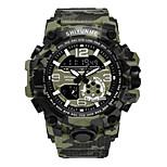 economico -orologio militare da esterno mimetico orologio impermeabile sportivo multifunzionale da uomo con doppio display digitale al quarzo