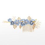 abordables -Vente directe d'usine accessoires de cheveux de mariée style coréen peigne à cheveux de fleur à la main et ensemble d'épingle à cheveux aliexpress accessoires de cheveux chauds