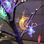 economico -led stringa luce stella luna 1.5 m 10 led 3 m 20 led usb o funzionamento a batteria ghirlanda luce fata stringa per il matrimonio natale ramadan festival casa decorazione esterna