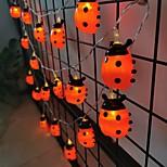 abordables -guirlande de fée insecte flash guirlande lumineuse pour la décoration de mariage de noël