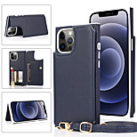 economico -telefono Custodia Per Apple Per retro iPhone 12 Pro Max 11 SE 2020 X XR XS Max 8 7 6 Porta-carte di credito Resistente agli urti Pelle Tinta unita pelle sintetica