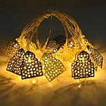 abordables -LED château guirlandes lumineuses 1.5m 10leds eid mubarak à piles islamique fête musulmane eid maison jardin décoration guirlandes lumineuses
