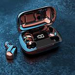 economico -XT7 Auricolari wireless Cuffie TWS Bluetooth5.0 HIFI Con la scatola di ricarica Controllo touch intelligente per Apple Samsung Huawei Xiaomi MI Cellulare