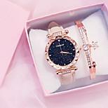 economico -orologio da donna stella impermeabile versione coreana di semplice orologio casual