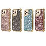 economico -telefono Custodia Per Apple Per retro iPhone 12 Pro Max 11 SE 2020 X XR XS Max 8 7 6 Resistente agli urti A prova di sporco Con diamantini Glitterato TPU