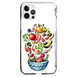 economico -frutta giardino custodia per apple iphone 12 11 se2020 design unico custodia protettiva antiurto custodia trasparente tpu custodia per iphone 12 pro max xr xs max iphone 8 7